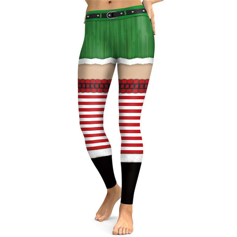 Sexy Merry Christmas High Waist Leggings