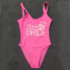 Image of Bachelor Party TEAM BRIDE Swimwear