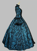 Image of Georgian Period Masquerade Ball Gown