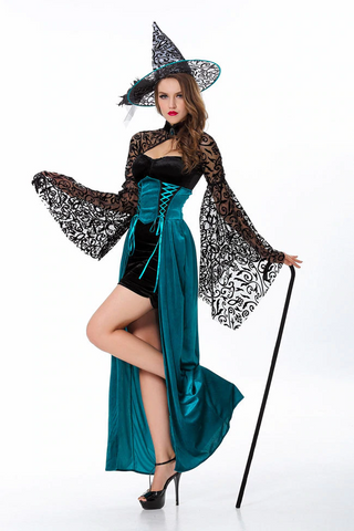 Gothic Witch Long Maxi