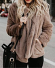 Image of Casual warm Faux Fur Jacket