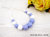 Silicone teething necklace Chewelry