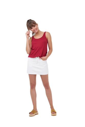 SANTA CRUZ TANK_Tops_CLARET_Velvet_The_Label
