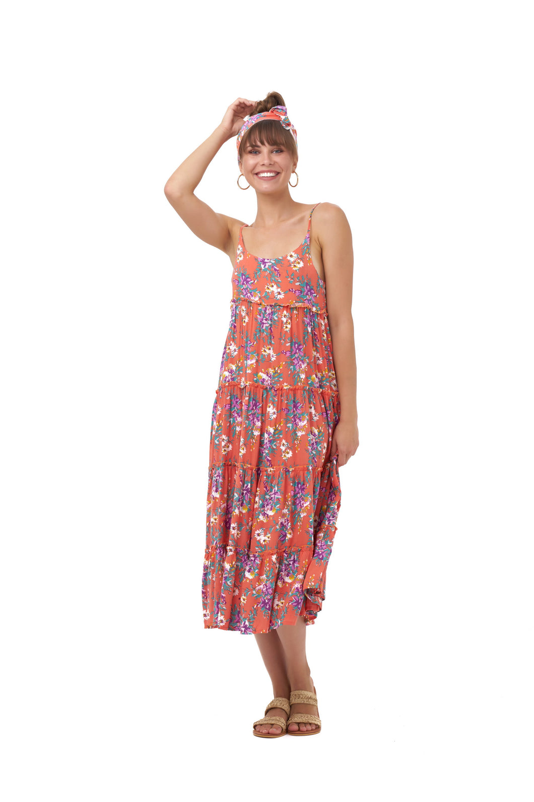 SEASIDE MAXI DRESS_Dresses_SUNSET FLORAL_Velvet_The_Label