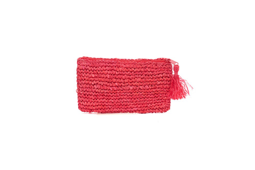 SMALL BEACH PURSE_Purses_RED_Velvet_The_Label