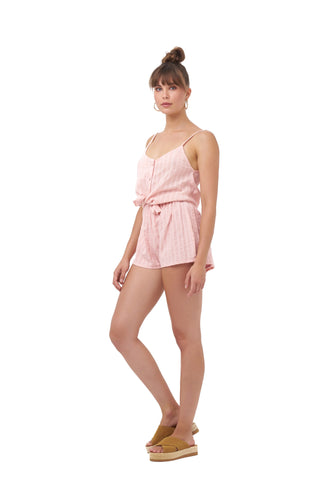 SPARKLY DAYS SHORTS_Shorts_PINK / SILVER LUREX_Velvet_The_Label