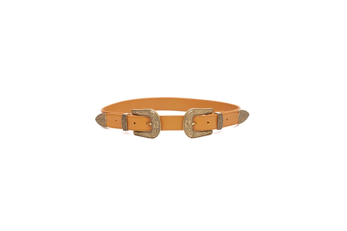 STAMPEDE BELT_Belts_TAN_Velvet_The_Label