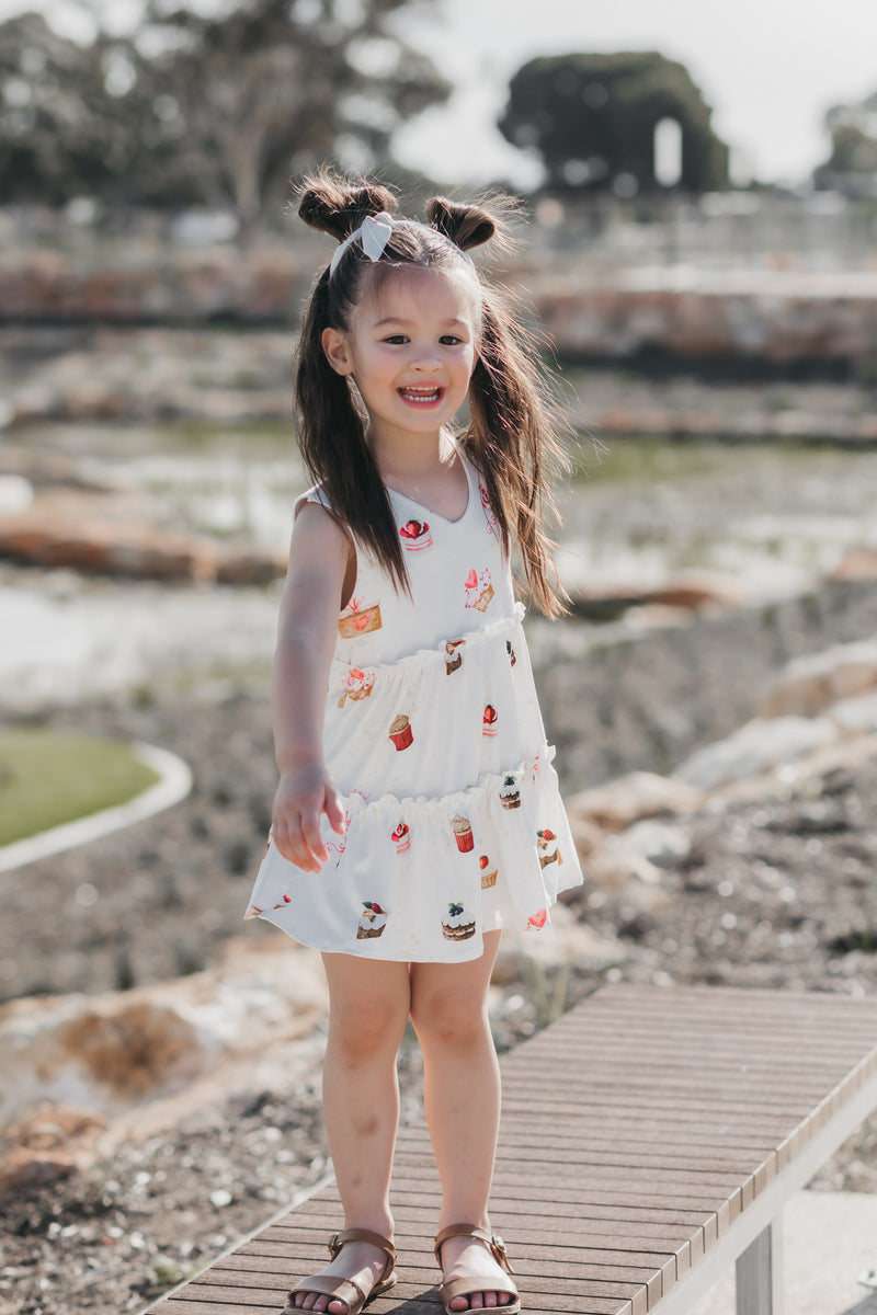 Something Sweet Tiered Ruffled Dress