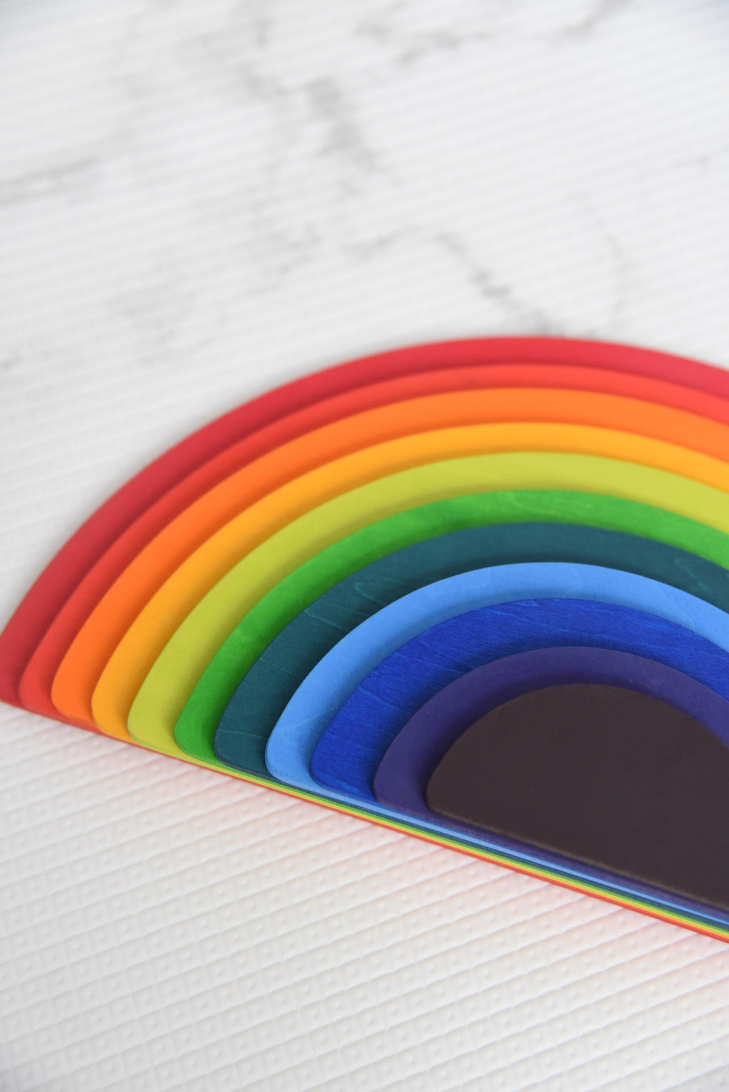 Rainbow Semi-Circle Planks (11 Pcs)