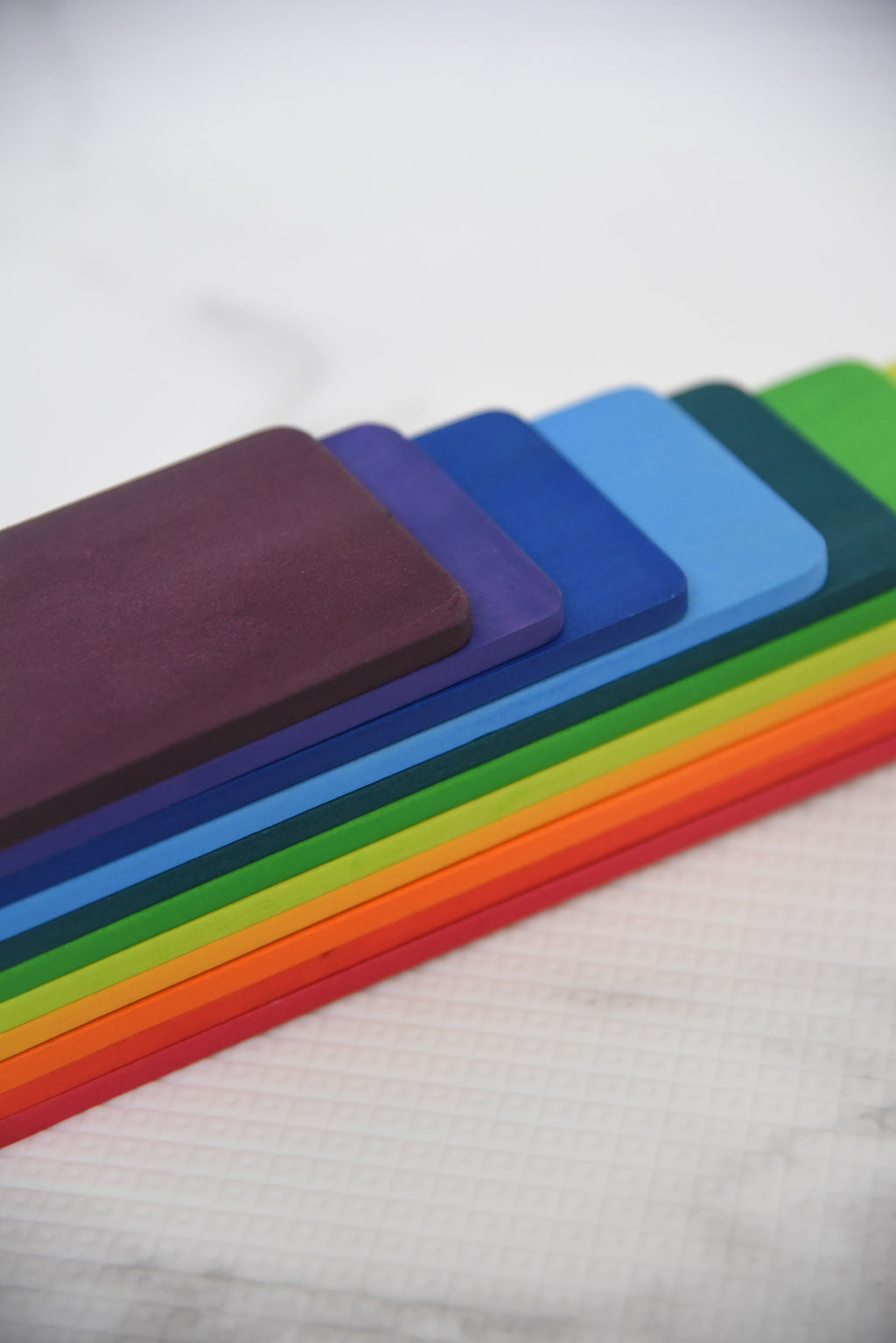 Rainbow Step Planks (11 Pcs)