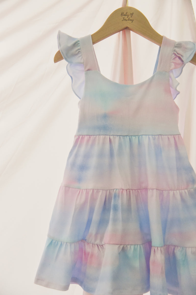 Dawn Shower Ruffled Dress