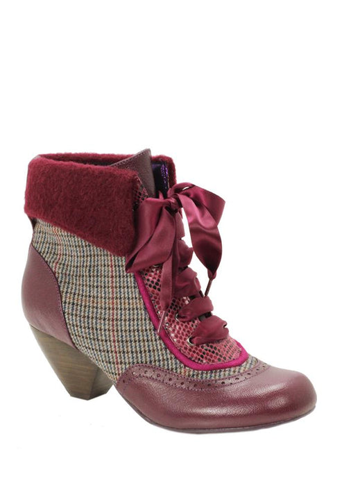 Afternoon Tea - Cranberry - SHESHESHOES
