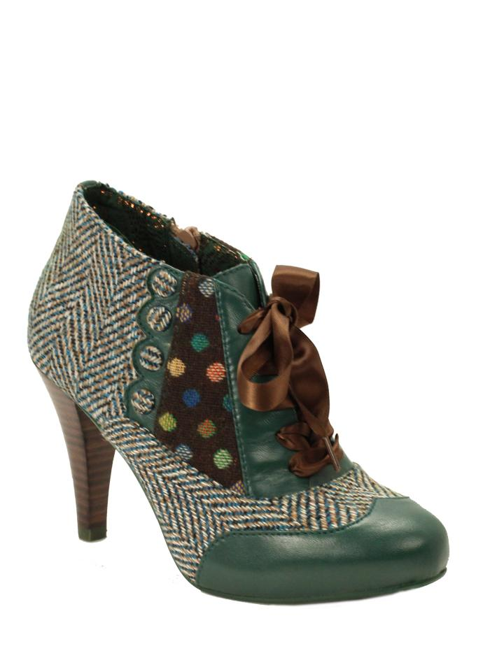 Betsey's Buttons - Teal - SHESHESHOES