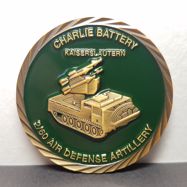 Charlie Battery Challenge Coin