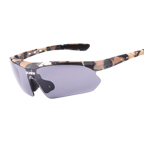 Outdoor Sport Sunglasses Men Army Military Bullet-proof Camouflage Goggles New Men's Cycle UV400 Mirror Glasses