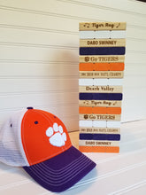 Clemson Tigers - Stackable blocks game - Family game - wooden - Tailgate - Weddings - Graduation - Man Cave/ Lake House/Cabin game - Cutting Edge Lazer