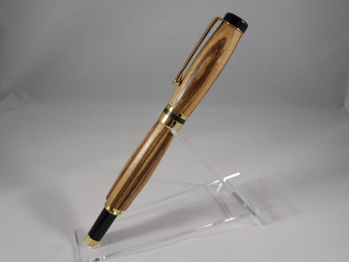 Zebrawood wood Writing Pen - Cutting Edge Lazer