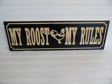 Engraved Sign - Chicken Coop - Rules - Cutting Edge Lazer