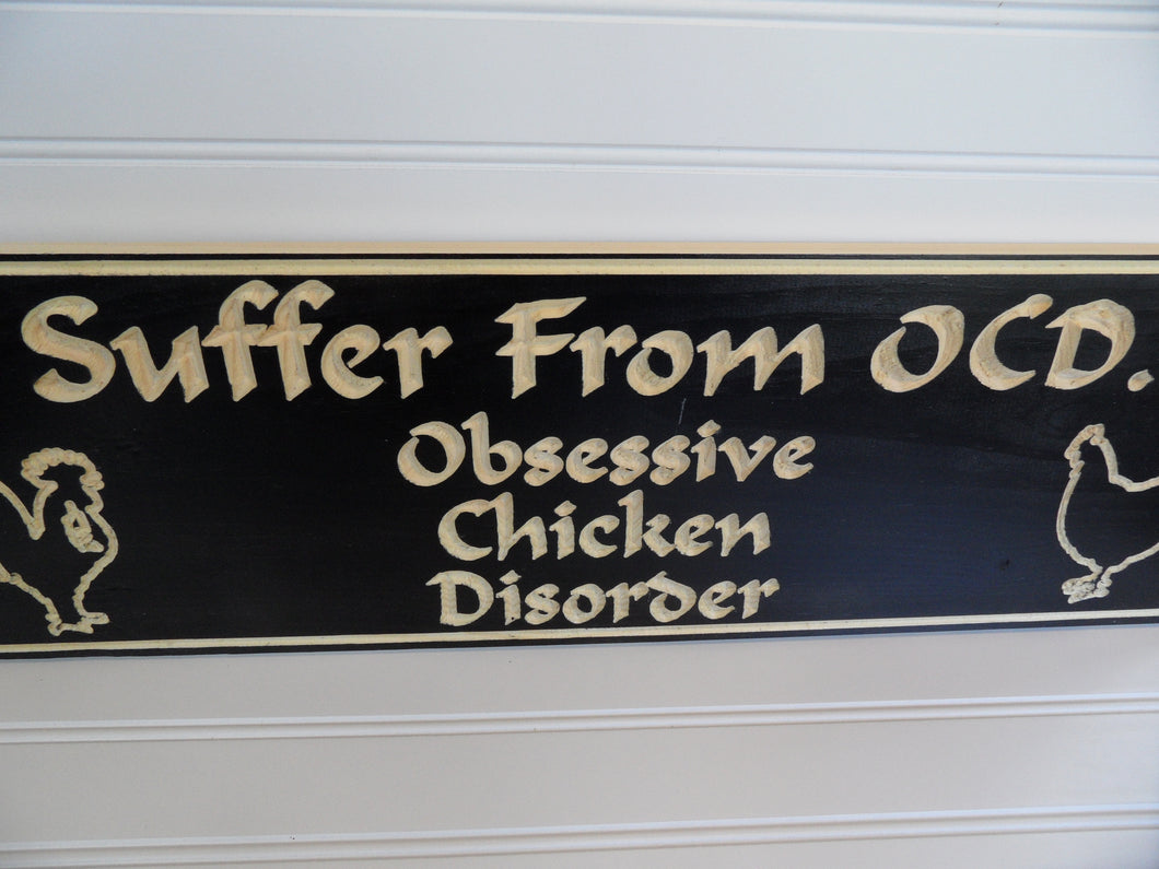 Engraved Sign - Chicken Coop - Cutting Edge Lazer