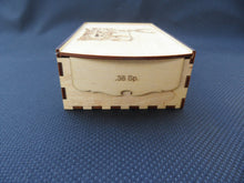 Ammo Box 38 Special Caliber Wooden Laser Cut - 50 round - Cutting Edge Lazer