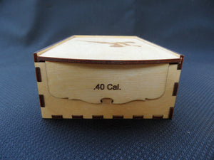 Ammo Box 40 Caliber Laser Cut - 50 round - Cutting Edge Lazer