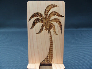 CellPhone Stand - Palm Tree - Cutting Edge Lazer