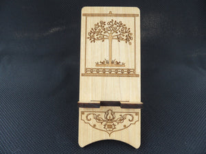 Cell Phone Stand - Tree of Life - Cutting Edge Lazer