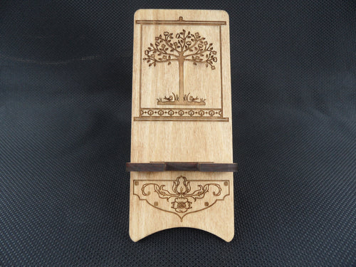 CellPhone Stand - Tree of Life - Cutting Edge Lazer