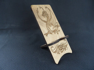 Cell Phone Stand - Dragon - Cutting Edge Lazer