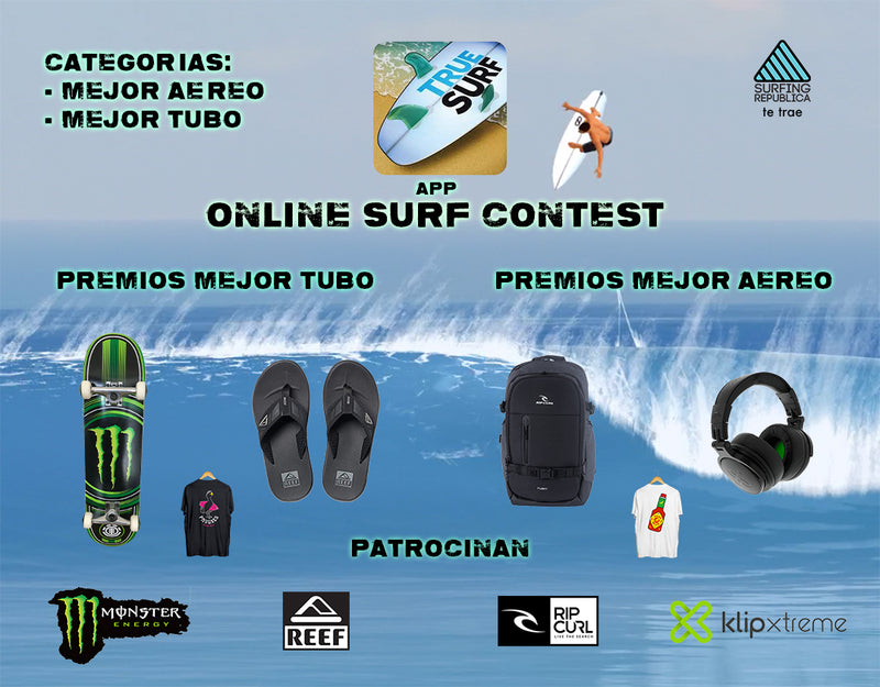 Surfing in Costa Rica - Online Surf Contest