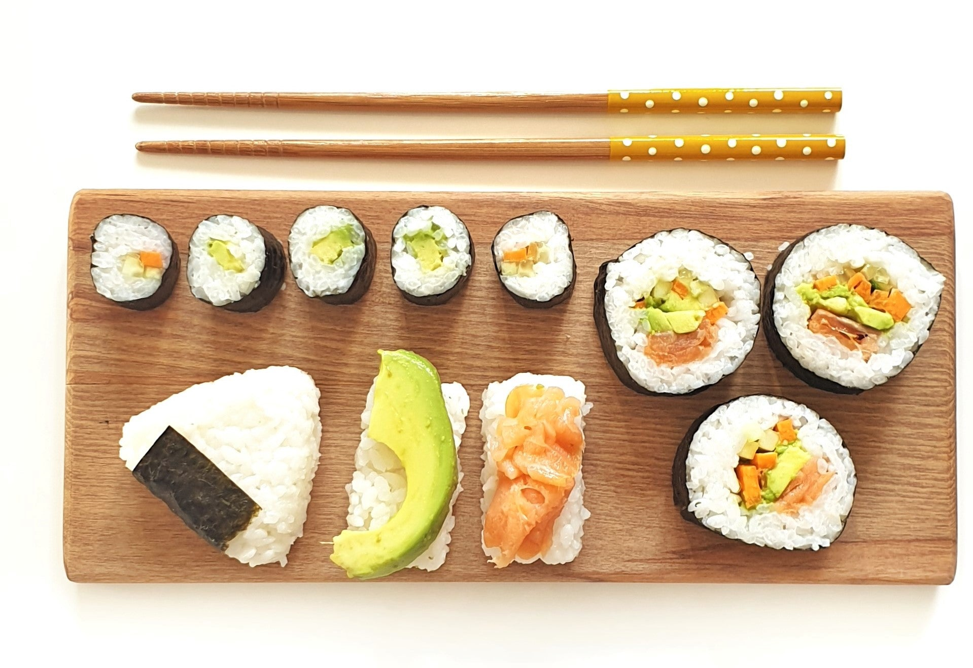 How to roll perfect sushi without a mat. Every single time.