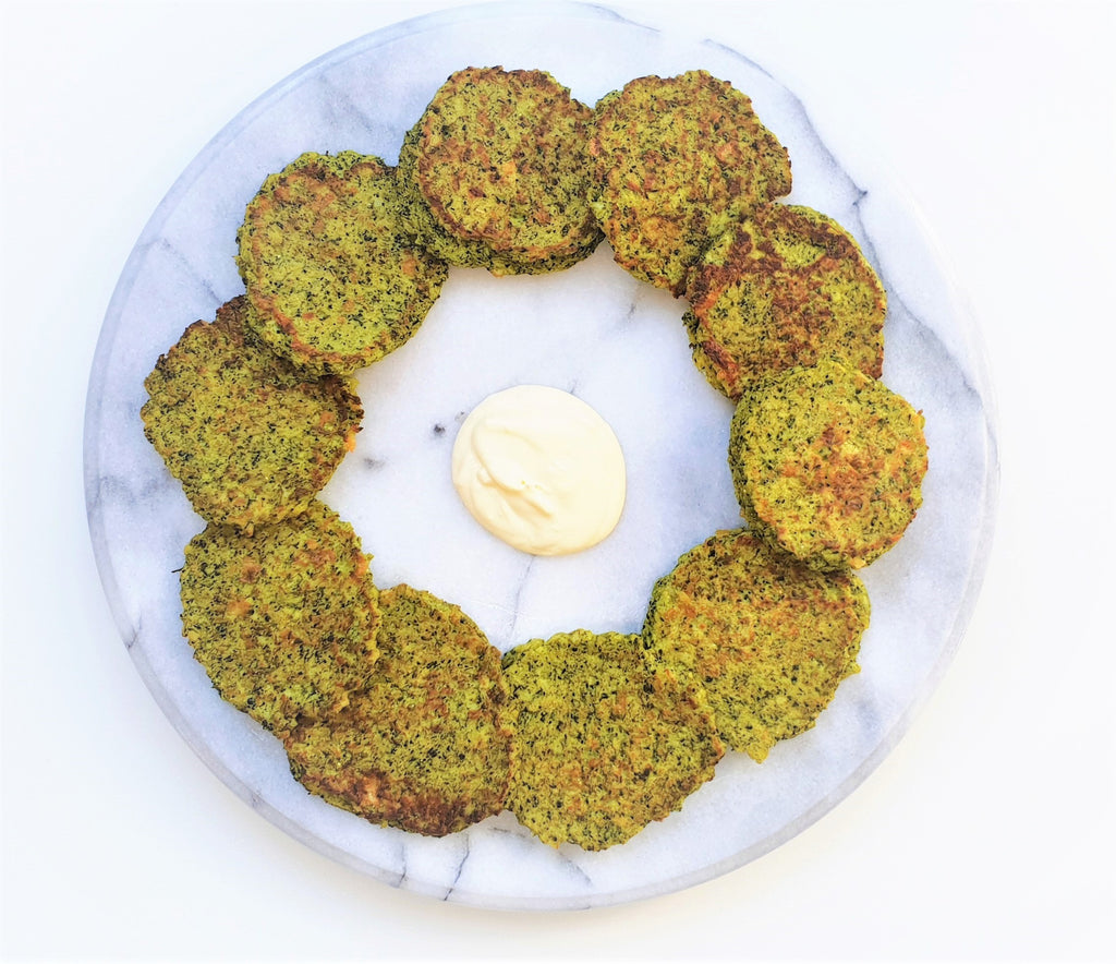Cheese Broccoli Fritters - Healthy Snacks NZ