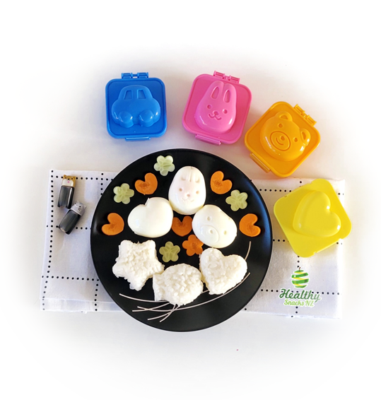 Egg Molds & Rice Shapers - Healthy Snacks NZ