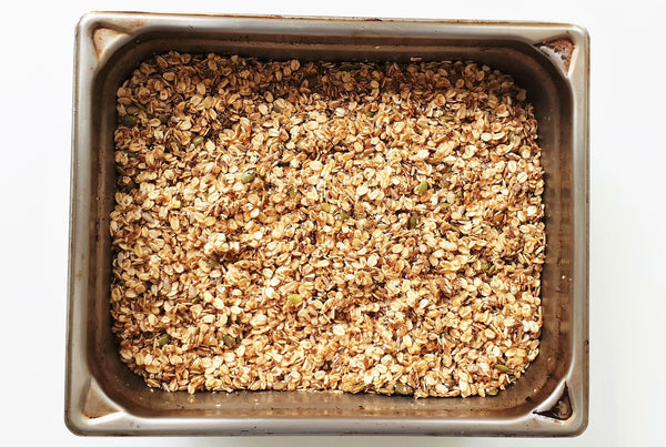Crunchy Superfoods Granola Easy Breakfast Family Recipe Kids