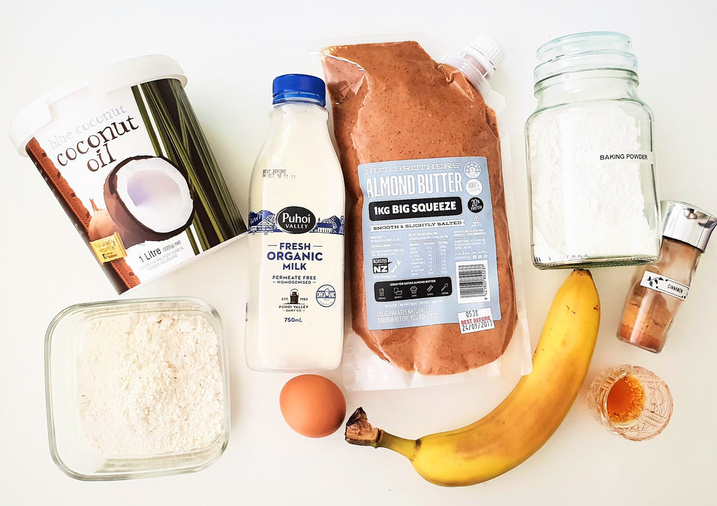 Almond Nut Butter Pancakes Healthy Family Recipes Kids Lunch