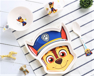 4pc Paw Patrol Tableware Set, Chase - Healthy Snacks NZ
