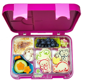 Printed Leakproof Convertible Bento 6 Lunchbox, Princess - Healthy Snacks NZ - Free Shipping