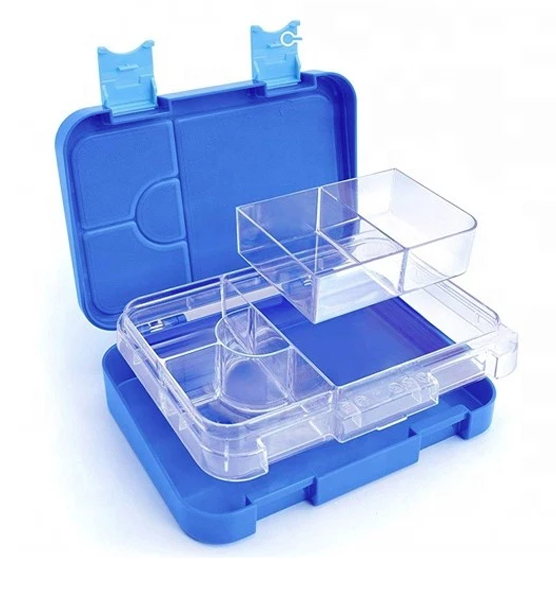 Everyday Leakproof Convertible Kids Bento 6 Lunchbox – Blue - Healthy Snacks NZ - Buy Online