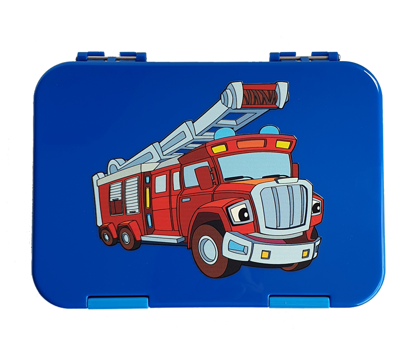 Everyday Leakproof Convertible Kids Bento 6 Lunchbox – Fire Engine - Healthy Snacks NZ - Buy Online - AfterPay