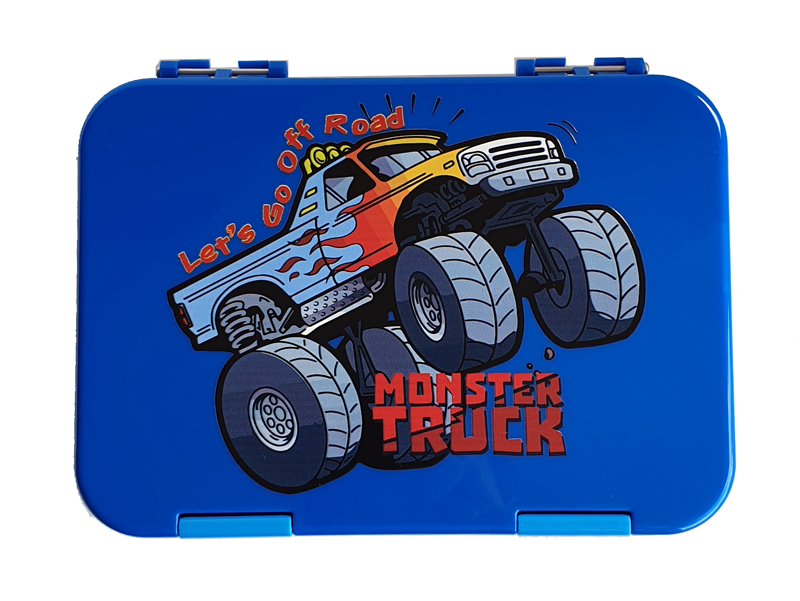 Everyday Leakproof Convertible Kids Bento 6 Lunchbox – Monster Truck - Healthy Snacks NZ - Buy Online - AfterPay