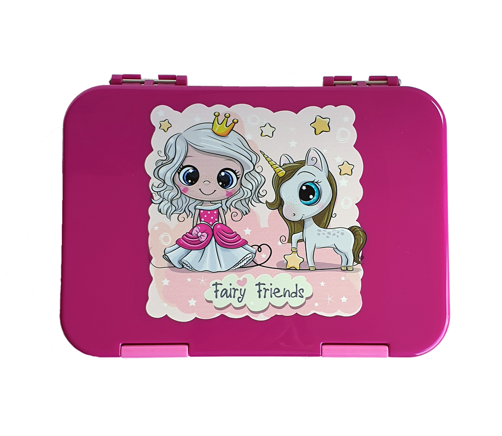 Everyday Leakproof Convertible Bento 6 Lunchbox – Princess - Healthy Snacks NZ - Buy Online