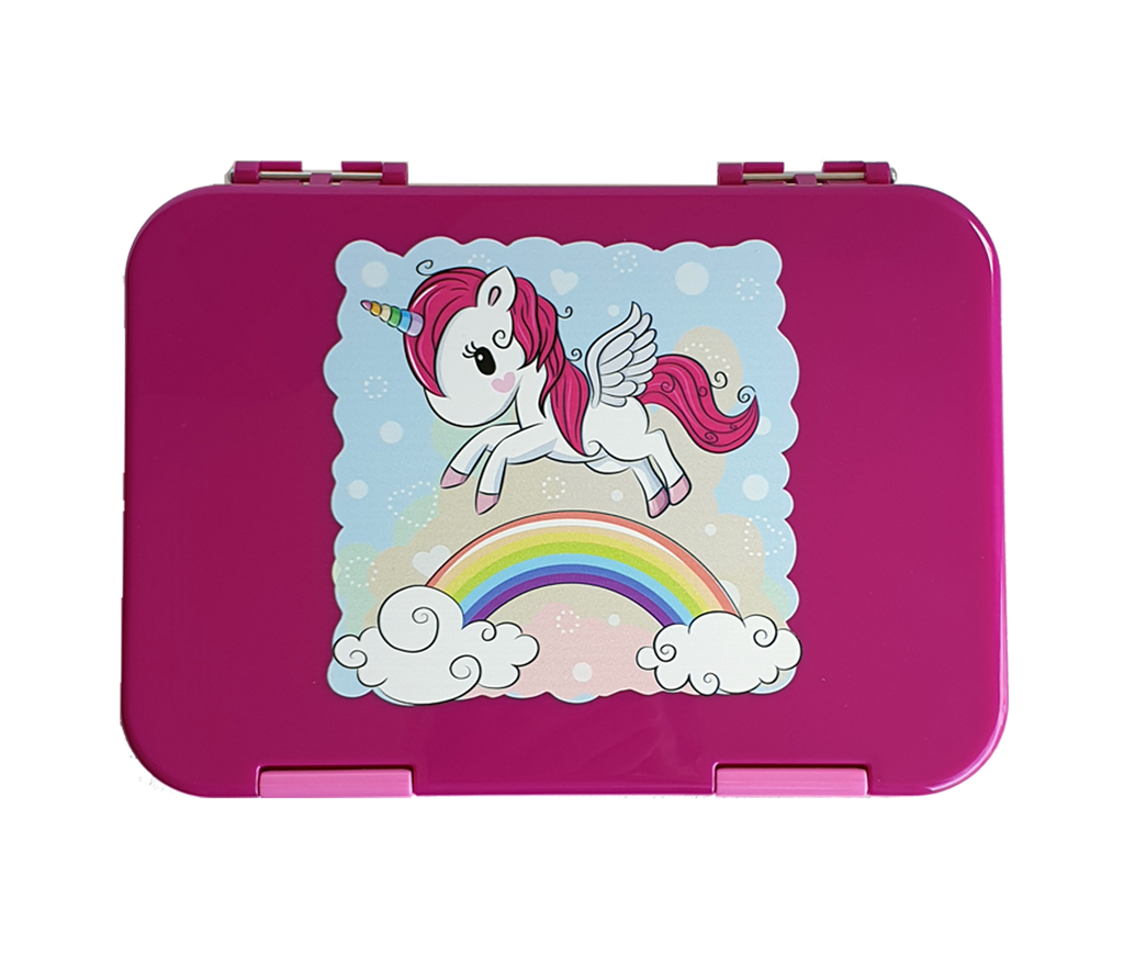 Everyday Leakproof Convertible Bento 6 Lunchbox – Unicorn - Healthy Snacks NZ - Buy Online