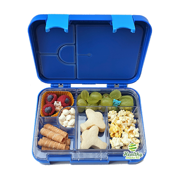 Everyday Leakproof Convertible Kids Bento 6 Lunchbox – Blue - Healthy Snacks NZ - Buy Online - AfterPay
