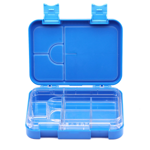 Everyday Leakproof Convertible Kids Bento 6 Lunchbox – Blue - Healthy Snacks NZ - Buy Online NZ