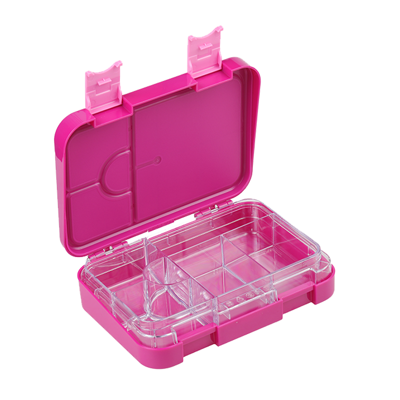 Everyday Leakproof Convertible Bento 6 Lunchbox – Purple - Healthy Snacks NZ - Free Shipping