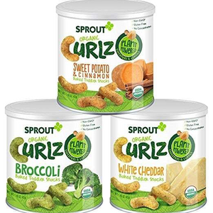 Sprout Organic Curlz, Plant-powered Kids Snack - Healthy Snacks NZ