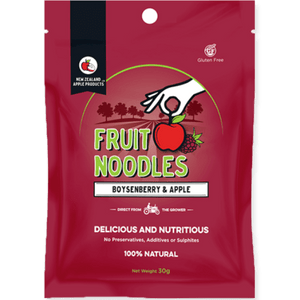 Healthy Snacks NZ - Fruit Noodles Boysenberry & Apple
