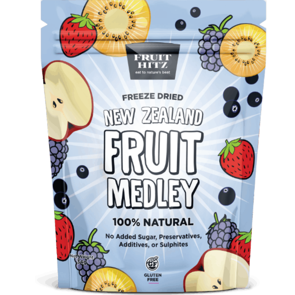 Healthy Snacks NZ - NZ Fruit Medley Freeze-dried - Order Online