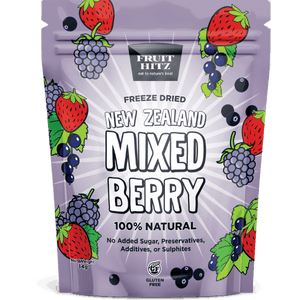 Healthy Snacks NZ - NZ Mixed Berry Freeze-dried - Best Snacks Online