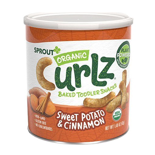 SPROUT Organic Sweet Potato & Cinnamon. Plant-Powered Snack for Kids - Healthy Snacks NZ.